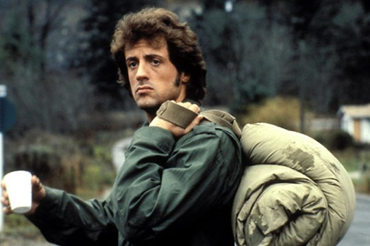 Sylvester Stallone Rambo First Blood movie image
