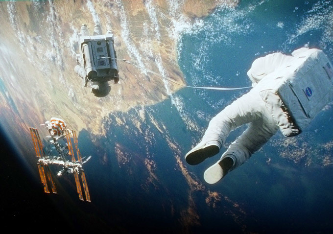 Stunning New Gravity Shots Highlight The Film's Visual Grandeur