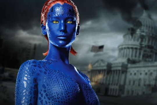 It Doesn't Sound Like Jennifer Lawrence Will Be Blue For Much Of X-Men: Apocalypse