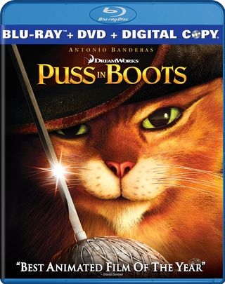 Puss In Boots Blu-Ray Review