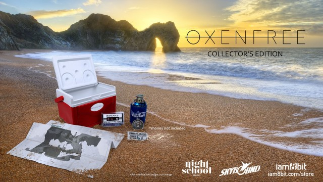Oxenfree Teams Up With iam8bit To Produce Collector's Edition