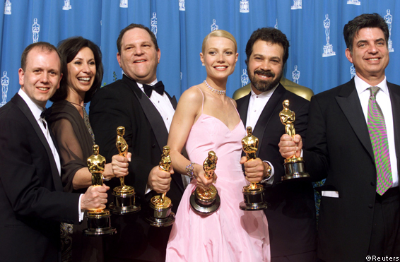 And The Oscar Goes To... Harvey Weinstein