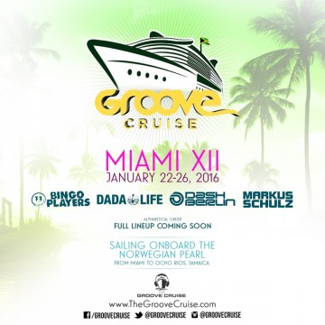 Dada Life, Bingo Players And More To Headline Groove Cruise Miami 2016