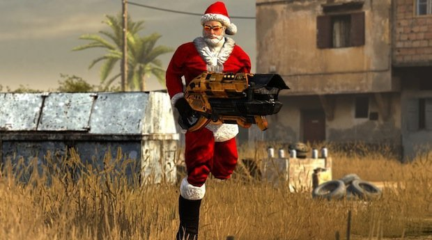 Serious Sam 3: BFE Gets In The Christmas Spirit And This Time It's Personal