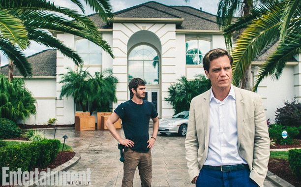 Andrew Garfield And Michael Shannon Are Serious In First Image From 99 Homes