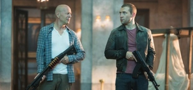 Check Out John McClane & Son In Latest A Good Day To Die Hard Poster