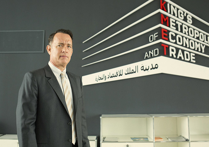 New Images For A Hologram For The King Send Tom Hanks On A Business Venture To Saudi Arabia