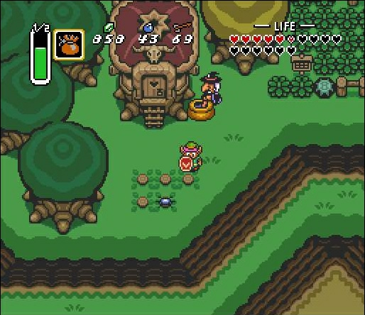 A Link To The Past And Majora's Mask In Remake Rivalry