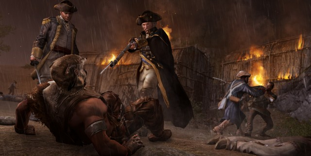 AC3 DLC SP 14 Frontier GeorgeWashington 640x321 Assassins Creed III The Infamy DLC Available Today