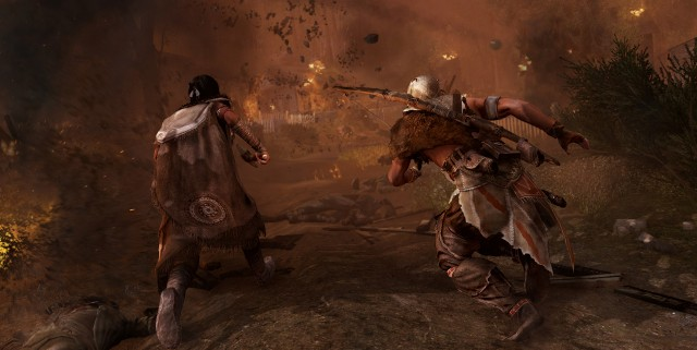 AC3 DLC SP 19 Frontier EscapeCannonFire 640x321 Assassins Creed III The Infamy DLC Available Today