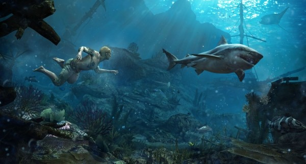 AC4 Underwater Harpoon Footage 600x321 Assassins Creed IV: Black Flag Gallery