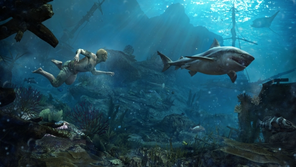 AC4 Underwater Harpoon Footage Gallery: Assassins Creed IV: Black Flag