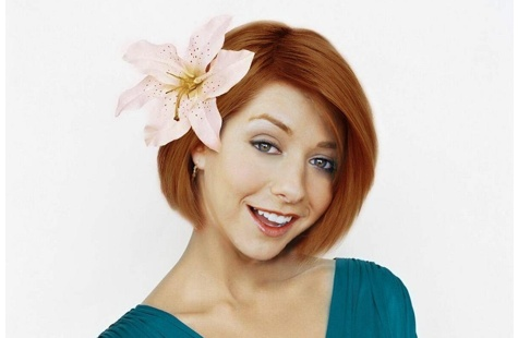 Alyson Hannigans Leaked Cell Phone Pictures