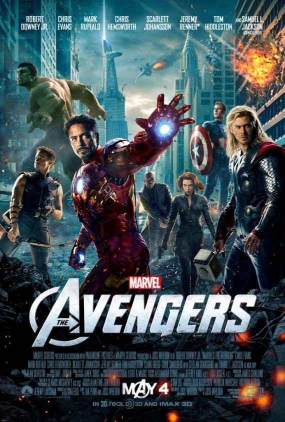 The Avengers Assemble For A New Poster