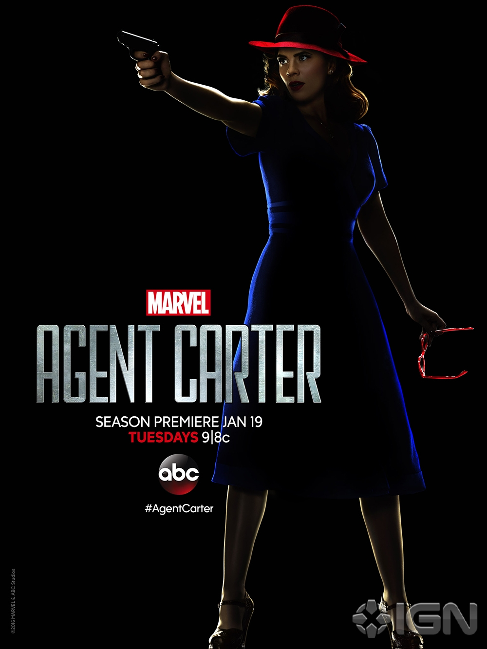 Latest Promo For Agent Carter Sends Marvel's Best Operative To Hollywood