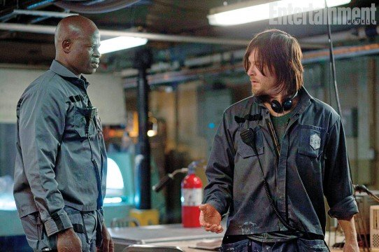 First Look At Norman Reedus And Djimon Hounsou In AIR