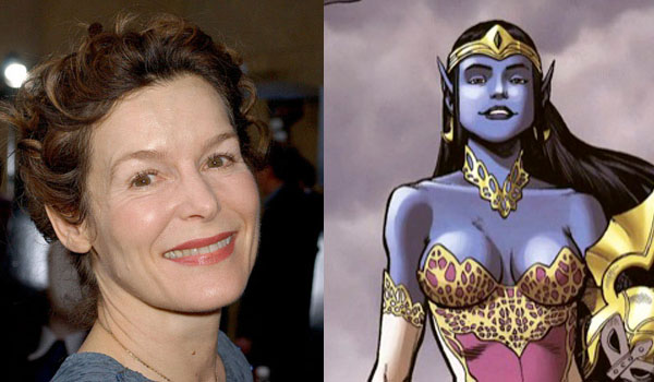Alice Krige Rumored To Play Queen Of The Dark Elves In Thor: The Dark World
