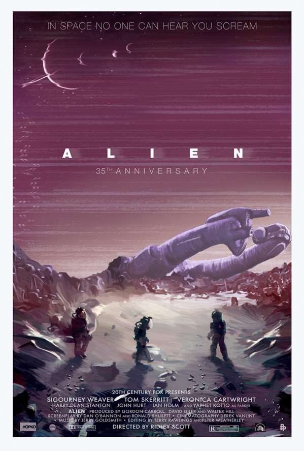 35th Anniversary Posters For Ridley Scott's Alien Remember A Classic