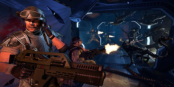 Aliens Aliens: Colonial Marines Trailer Proves Its Game Over