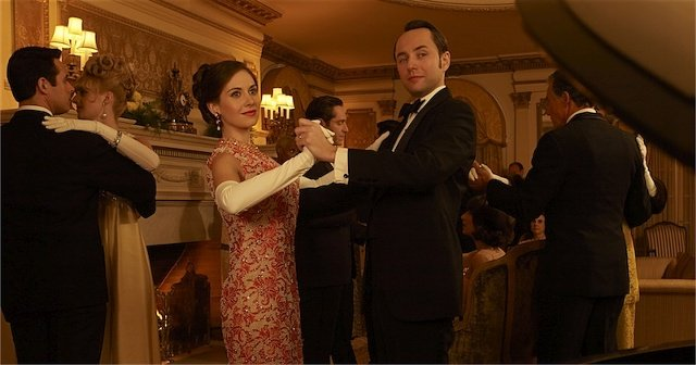Alison Brie and Vincent Kartheiser in Mad Men Mad Men Gallery