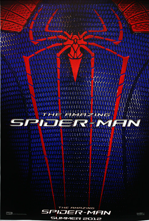Posters For The Amazing Spider-Man