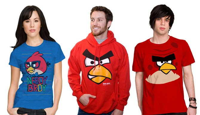 Angry Birds T shirt 5 Popular Mobile Apps With Disturbing Implications