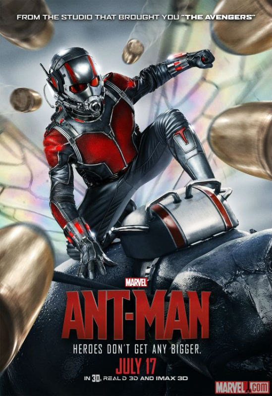 New Ant-Man Poster Sees Scott Lang Zoom Into Action