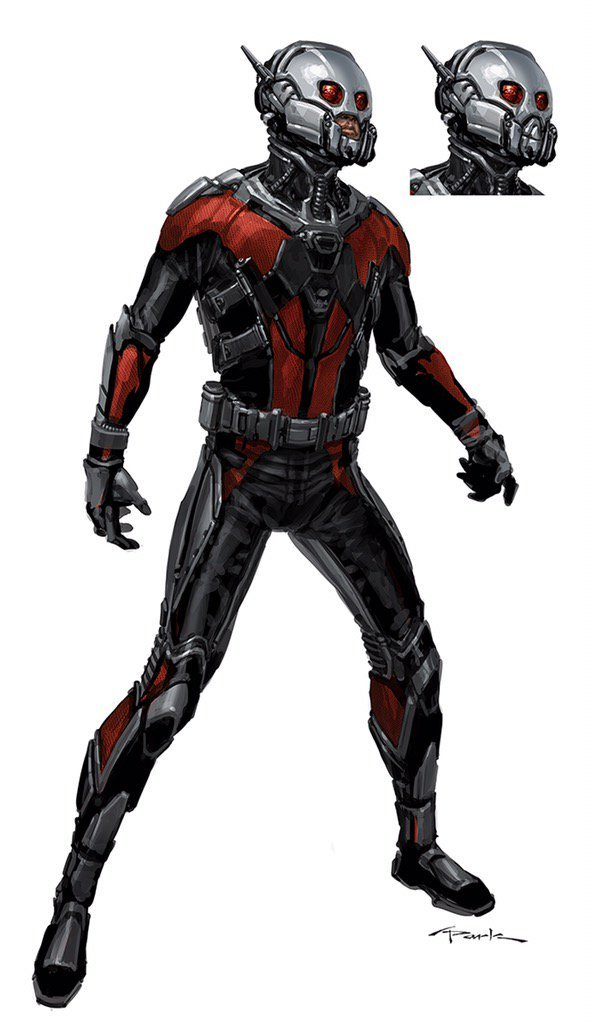 New Ant-Man Concept Art Shows Us How Scott Lang Could Have Looked