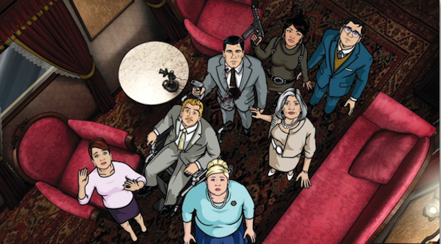 Archer The Top 20 Shows Of 2012 (#10 1)