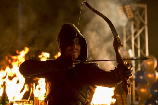 Arrow Gives Fans Their First Real Look At Season 2