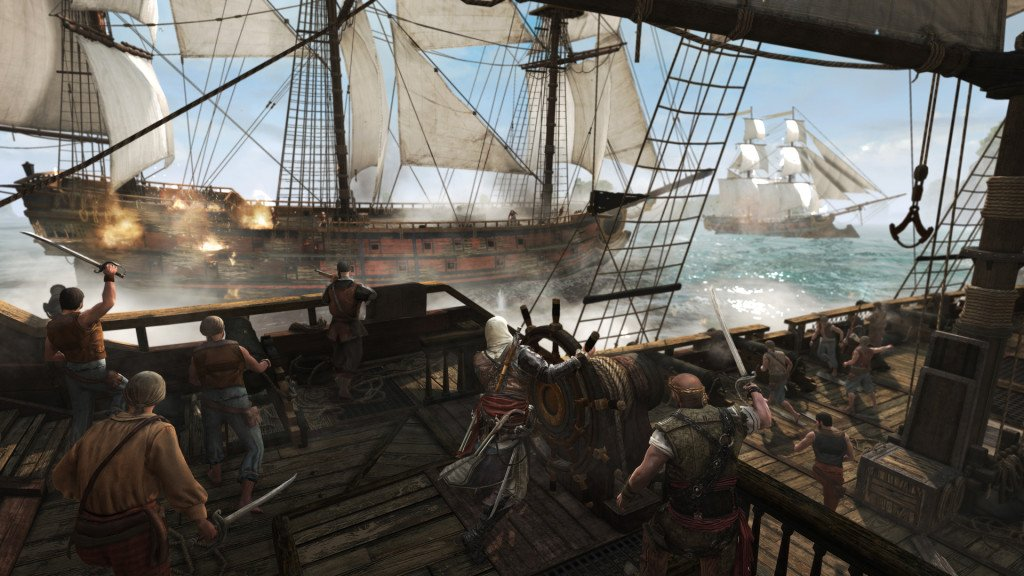 Assassin's Creed IV Black Flag – in game CGI trailer New Screenshots 4 1024x576 Assassins Creed IV: Black Flag Gallery