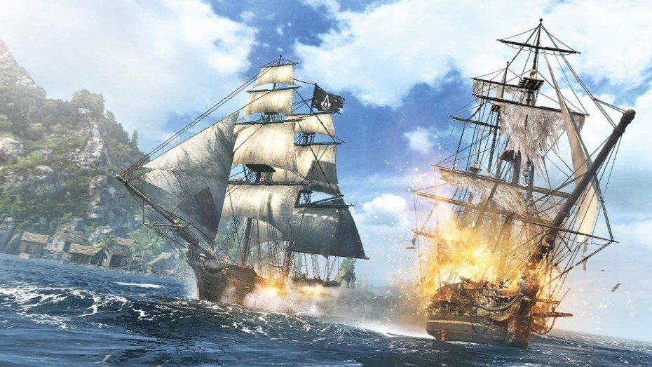 Assassins Creed 4 Black Flag hello there 930x523 Gallery: Assassins Creed IV: Black Flag