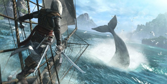 Assassins Creed IV Black Flag Whale 640x321 Assassins Creed IV: Black Flag Gallery