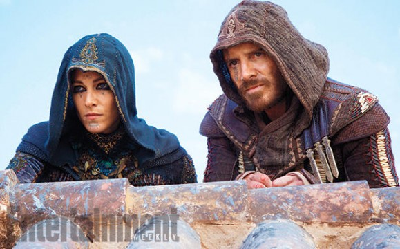 New Look At Michael Fassbender And Ariane Labed In Assassin's Creed