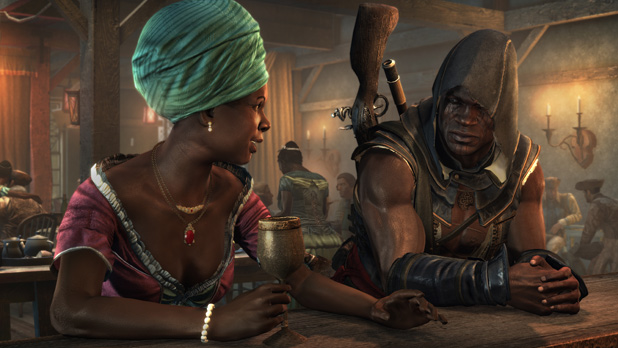 AssassinsCreedIVBlackFlagFreedomCry PortAuPrince BastienneAndAdewale Games Dont Have To Be Fun, Says Assassins Creed IV Writer