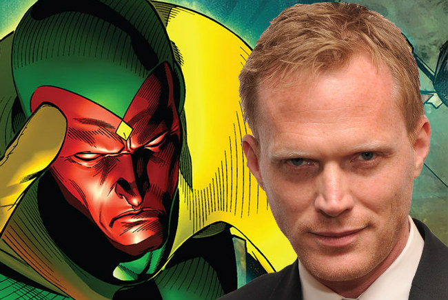 Paul Bettany's Role As The Vision May Stretch Beyond Avengers: Age Of Ultron