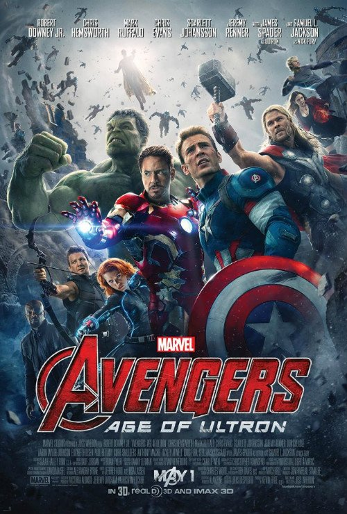 Earth's Mightiest Heroes Are Up Against It In Official Avengers: Age Of Ultron Poster