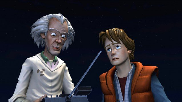 Get Episode 1 Of Telltale's Back To The Future Game For FREE!