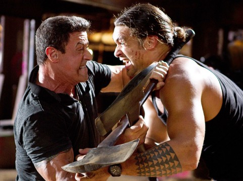 BULLET TO HEAD 481x360 Arnold Schwarzenegger vs. Sylvester Stallone: 5 Of Their Best Movies