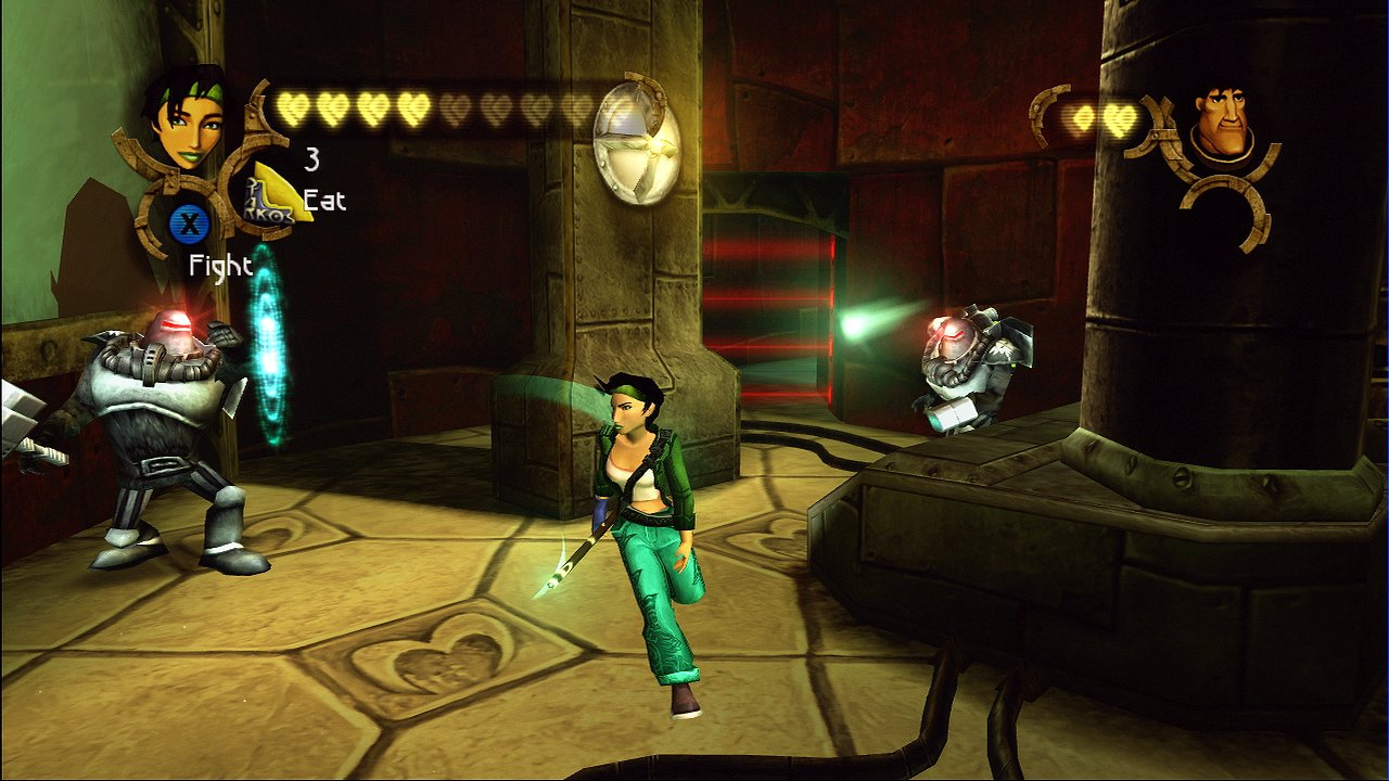 BVELHD FightAlpha2 46 Beyond Good & Evil HD Review