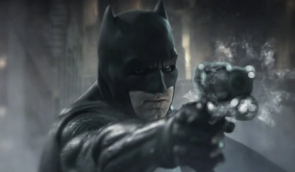 BVS Batman fight