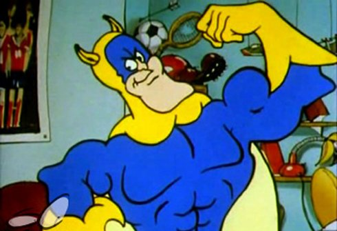 Peel The Power With The First Teaser Poster For Bananaman