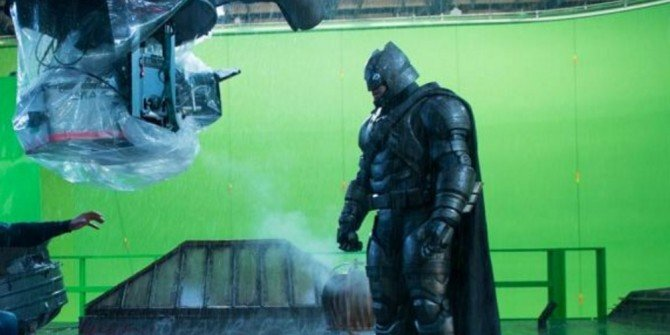 Ben Affleck Dons The Armor In New Batman V Superman: Dawn Of Justice BTS Image