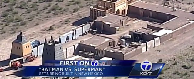 Ebola Virus Forces Batman V Superman: Dawn Of Justice To New Mexico; New Set Photos Emerge
