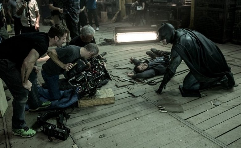 Behind The Scenes Batman V Superman: Dawn Of Justice Images Bring The Action