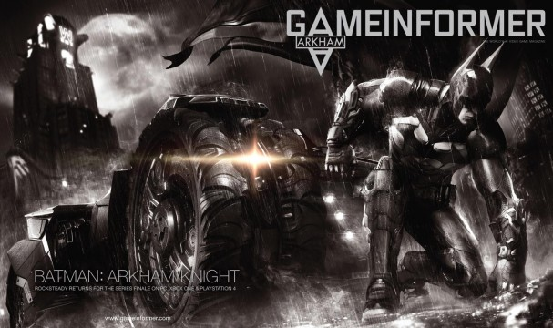 Rocksteady's Batman: Arkham Knight Has Been Officially Unveiled By GameInformer