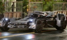 High Quality Batmobile Snaps Topline Latest Suicide Squad Set Photos