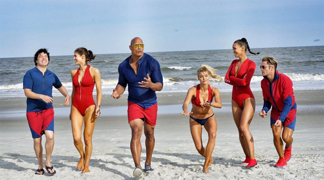Paramount's Lifeguards Strike A Pose In Baywatch Team Photo