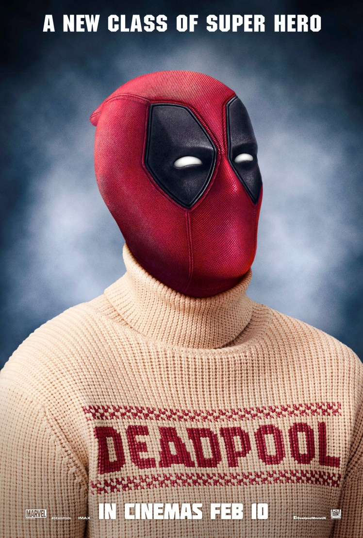 Deadpool Gets Classy With Latest Poster