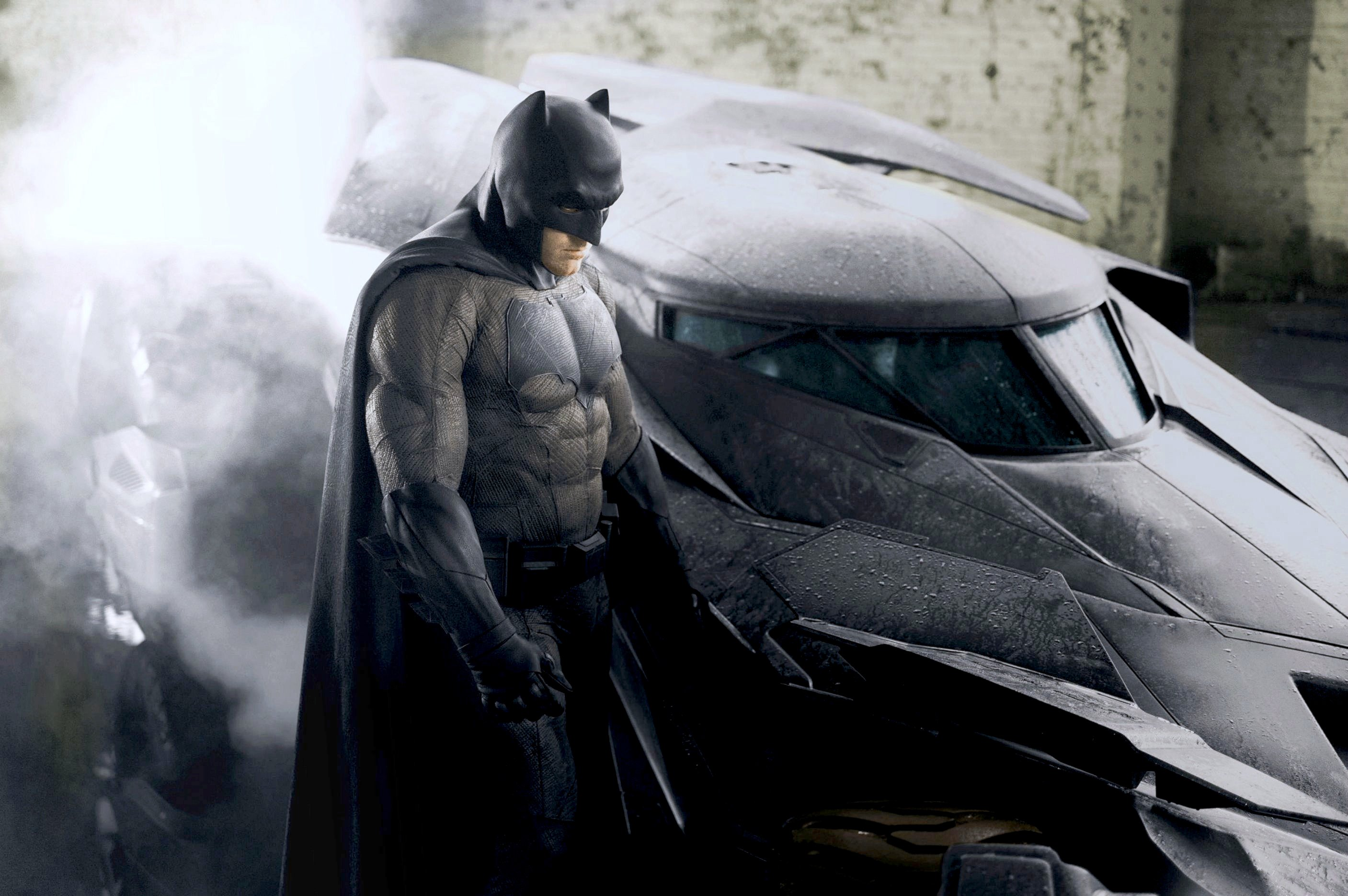 Batman V Superman: Dawn Of Justice Producer Says Ben Affleck Was Always First Choice For The Caped Crusader